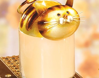 Decorative And Beautiful Cat Jar Topper
