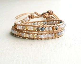 Women natural stones bracelet