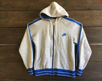 Vintage 80s Nike Zip-up Hoodie