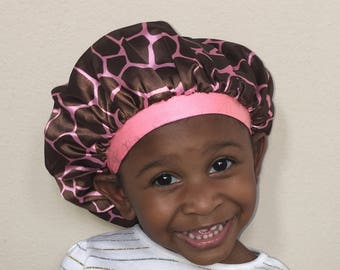KRADDLE KAP satin bonnet (small & adult available)
