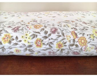 Vintage Double bed flat sheet