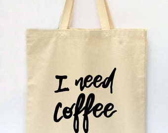 Tote Bag, Reusable Grocery Bag, Market Tote Bag, Canvas Tote Bag, Printed Tote Bag, Shopping Bag, Coffee Tote Bag