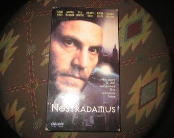 Nostradamus VHS 1994 Rated R