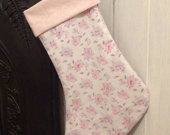 Sale. Christmas stocking, xmas stocking, Christmas decor, small Christmas gift sack, Festive sock.