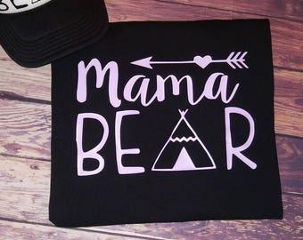 Family Bear Shirts, mama bear, baby bear, sister bear, papa bear, family pictures tees
