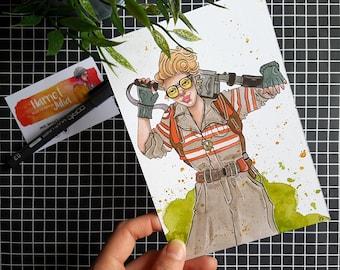 Holtzmann / Postcard Print