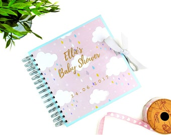 Personalised Baby Shower Guest Book, Gender Neutral Baby Shower Decor,  Pregnancy Gifts, Baby