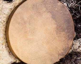 Commission a Horse Shamanic Drum & Beater: SAMPLE
