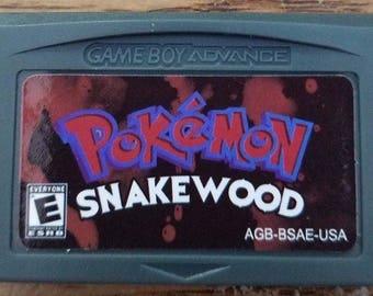 Pokemon Snakewood English Game Boy Advance GBA