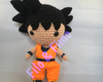 Goku - Dragon Ball - Chibi Doll Amigurumi