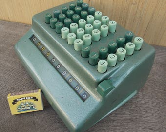 Bell Punch Plus Adding Machine