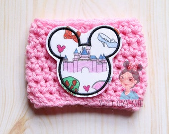 Disney Park Icon Inspired Fabric Coffee Cup Cozy