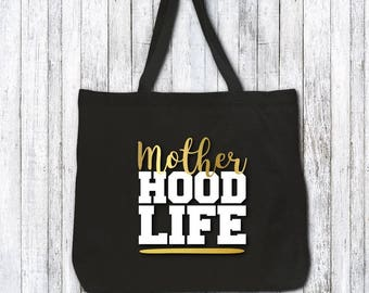 Funny tote bag - gift for mom - gift for wife - gift for mothers day - mothers day present  - mom birthday gift idea