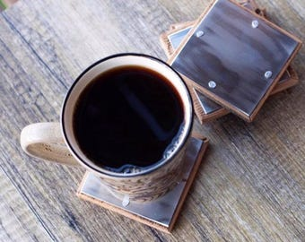 Industrial Chic Coasters