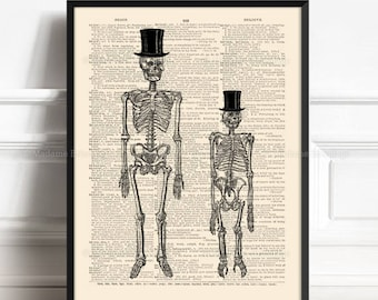 Animal Anatomy Decor, Geeky Boyfriend Gift, Animal Poster Gift, Friends Not Food, Funny Skeletons, Funny Print Gift, Animal Anatomy, Top 229