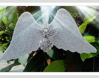 Angel wings  decoration , memorial angel,  baby loss wings,