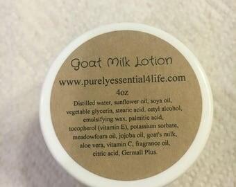 Goat Milk Lotion 4oz