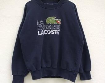 Vintage Lacoste Sweatshirt / Retro / 80s 90s / Lacoste Sweater / Lacoste T Shirt / Lacoste Jacket / Casual / Mod /