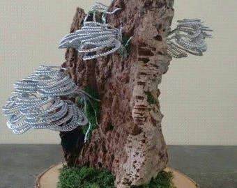 Aluminium Bonsai sculpture