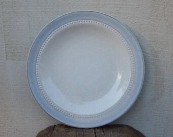 Vintage Hoganas Keramik Sweden Savoy Cake Plate Scandinavian Design Stoneware