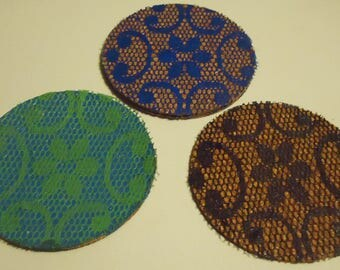 Flower Cup Coasters