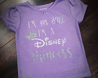 Disney princess kids tee