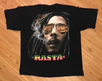 Vintage Bob Marley Rasta tee
