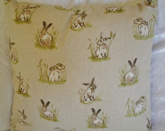 Hare cushion, hare pillow