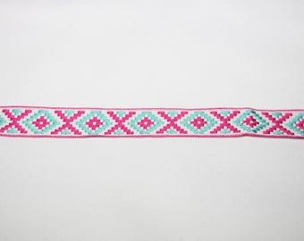 2cm patterned jacquard Ribbon