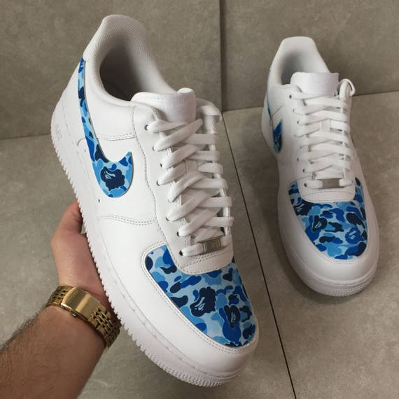 "hot sale online d4684 37732 ... Camo"" By Custom Nike Air Force 1 blue bape air force 1 ..."