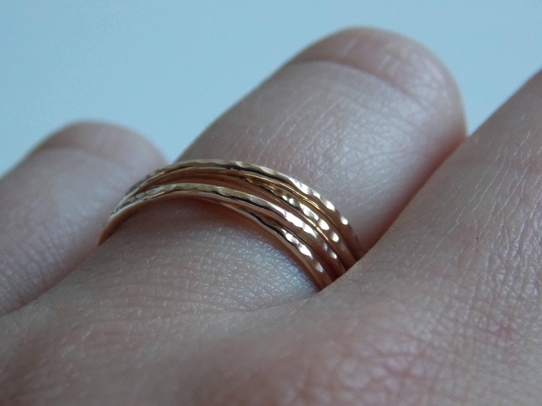 Bague anneau tres fin