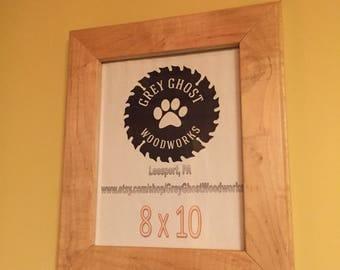 Maple 8x10 frame
