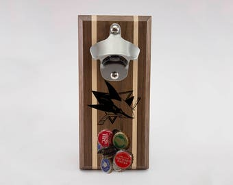 San Jose Sharks Magnetic Bottle Opener