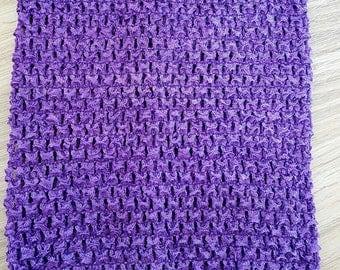 STRAPLESS stretch 2-6 years for making CROCHET purple dress TUTU