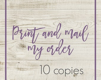 order print and mail my order