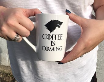 Game of Thrones inspired Coffee Mug