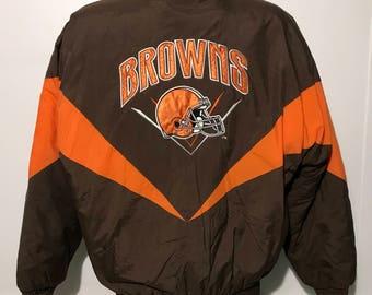 Vintage Cleveland Browns Winter Jacket M