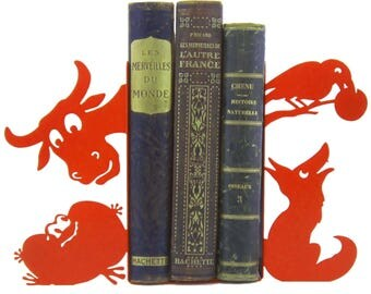 Great bookend Fables of La Fontaine 2