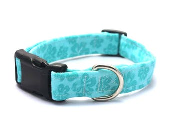 Floral Turquoise Collar