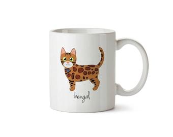 Bengal Cat Mug (boy)