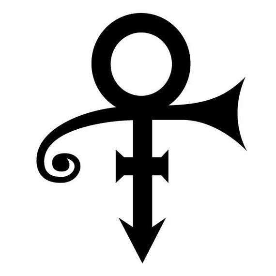 prince symbol decal artist formerly known as prince prince