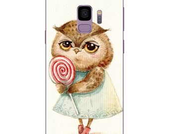 Samsung Galaxy S9 / S9 Plus case cover Owl