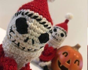 Sandy Claws Handmade KneeHugger Style Crochet Plush