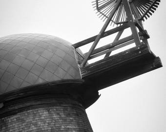 Old Windmill Photograph