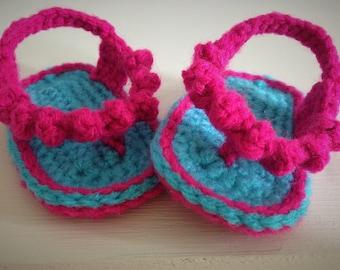 Crochet Baby Flip Flops, Baby Girl Flip Flops, Baby Crochet Sandals, Baby Girl Sandals, Crochet Sandals, Baby Footwear, Baby Shower Gift