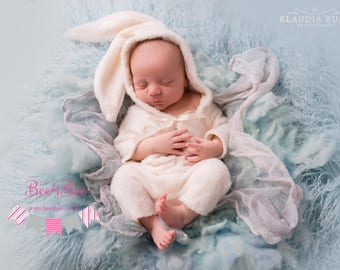 newborn bunny outfit photo prop