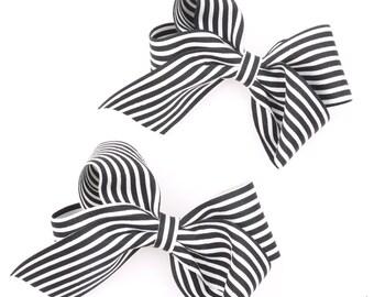 Korean style hair bow hair ribbon Women's hair bow hair accessories Hair elastic Hair pins Fabric ribbon bow