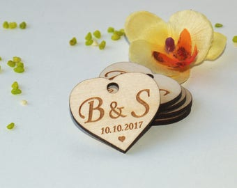 Wedding invitation tags, Wedding rustic favors, Gift tags, Wedding tags, Wedding favors, Thank you tags, Wedding favor tags, wood favor tags