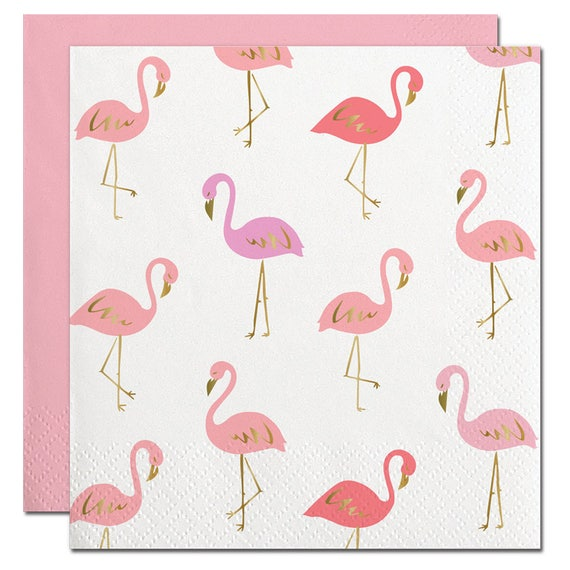 Flamingo Cocktail Napkins (20 ct)