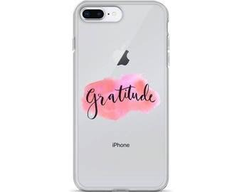 Gratitude iPhone Case